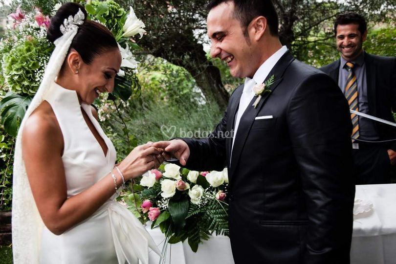 La ceremonia de Esteban&Isa