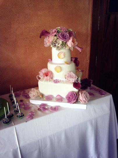 Decoraciónd e la tarta