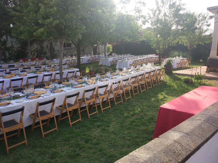 Montaje de boda