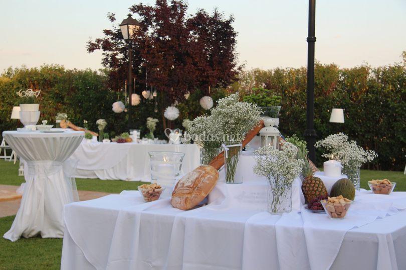 Mesas para aperitivos