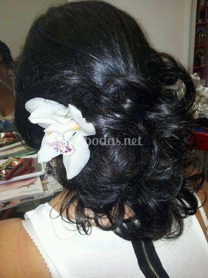 Peinado sensual