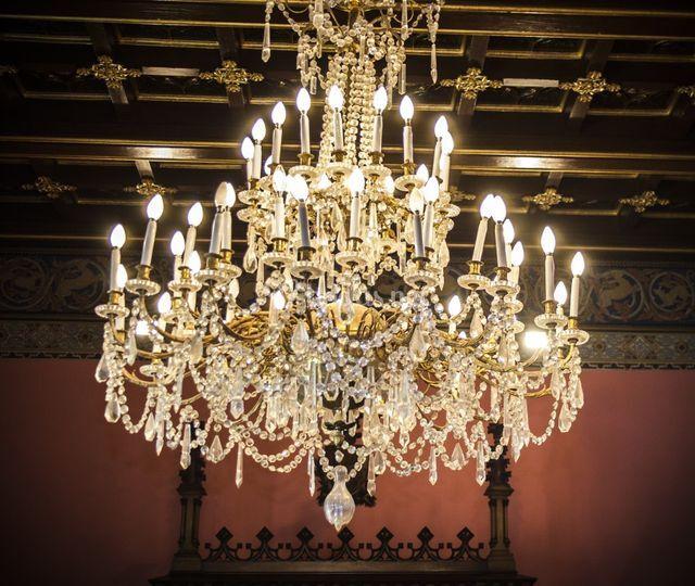 Lámpara del salón de baile