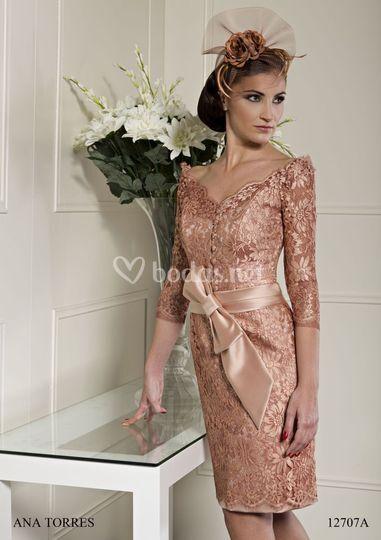 Vestido chantilly