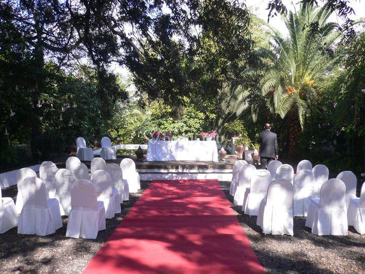 Ceremonia en la alberca