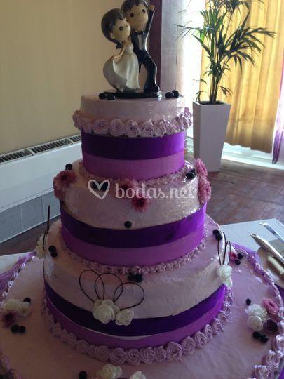 Detalles violetas