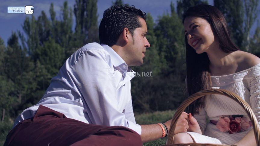 Victoria y José Ángel