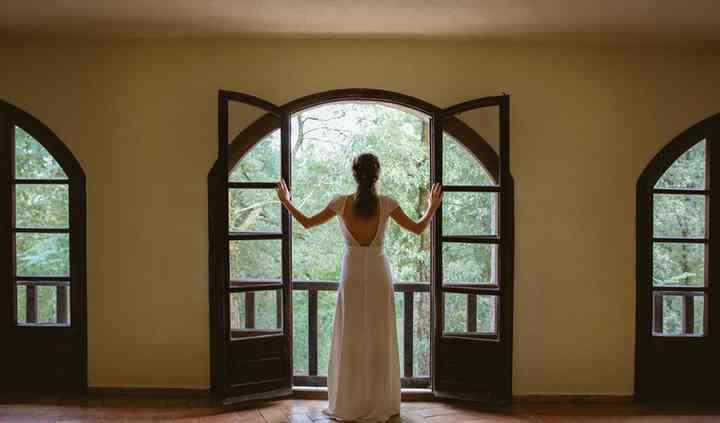 La novia en su habitación