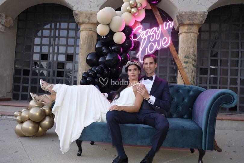 Photocall de Nika Weddings
