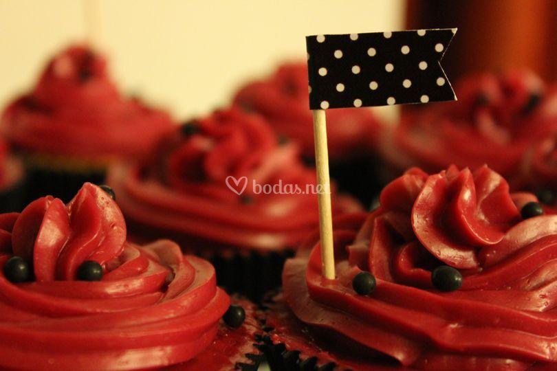 Detalles en cupcakes