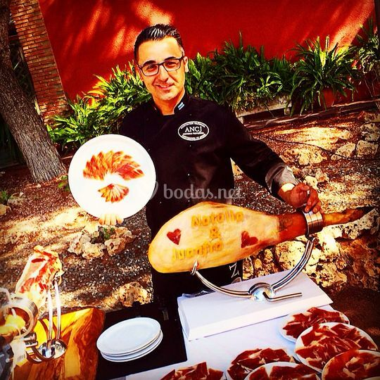 FJ Cano - Cortador de jamón