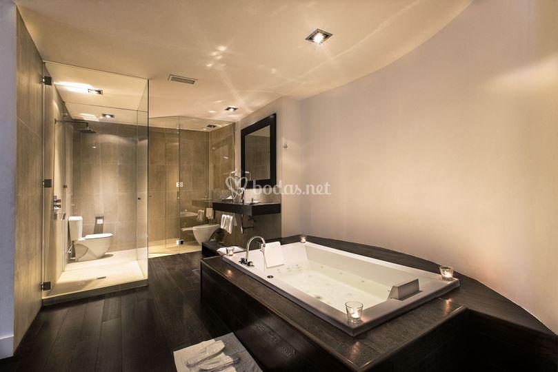 Baño de una suite