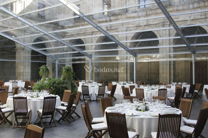 Carpa transparente Monforte de Boketé Catering & Wedding