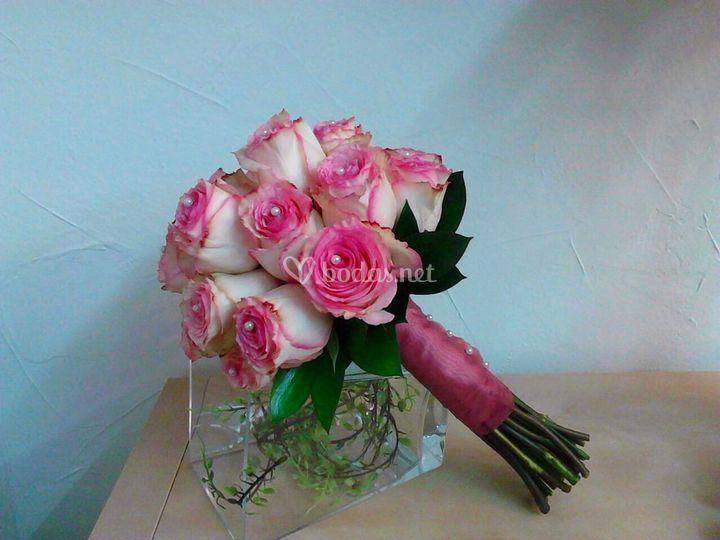 Bouquet de rosa esperanza