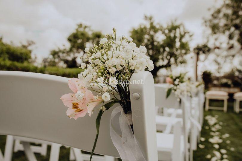 Detalle silla ceremonia