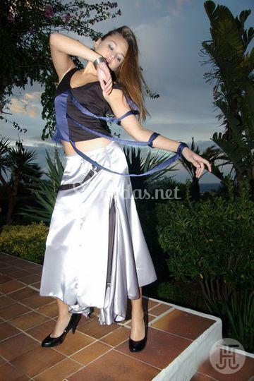 Top y falda