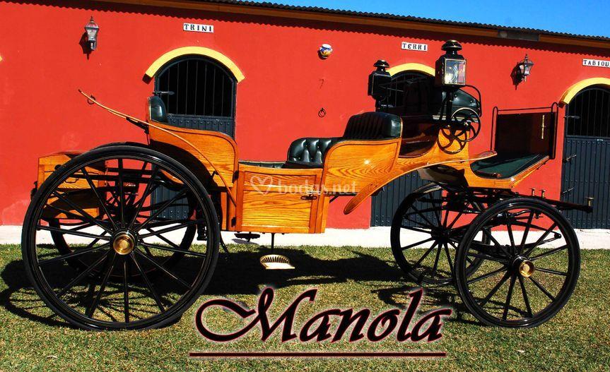 Carruaje Manola