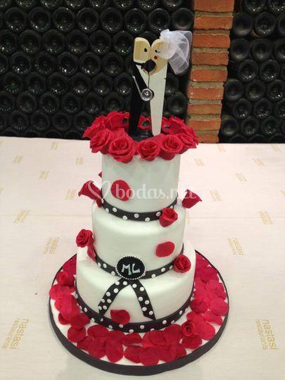 Pasteles de boda