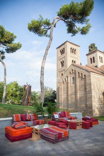 Chill out en el monasterio