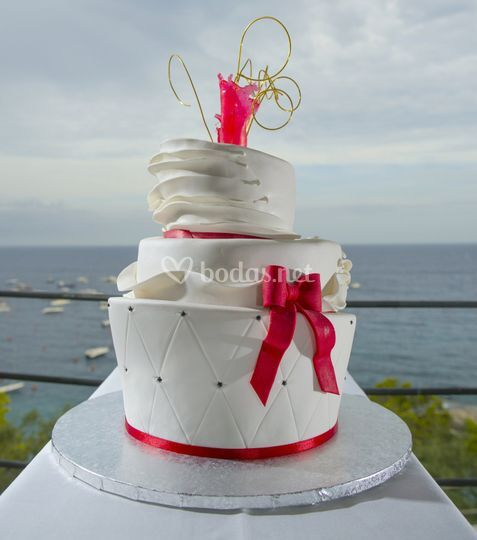 Tarta Boda Inclinada