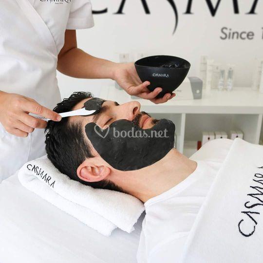 Tratamientos faciales para él