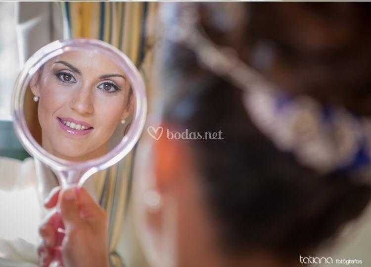 Maquillaje novia aerógrofo