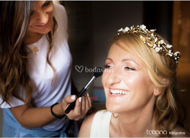 Maquillaje novia hd