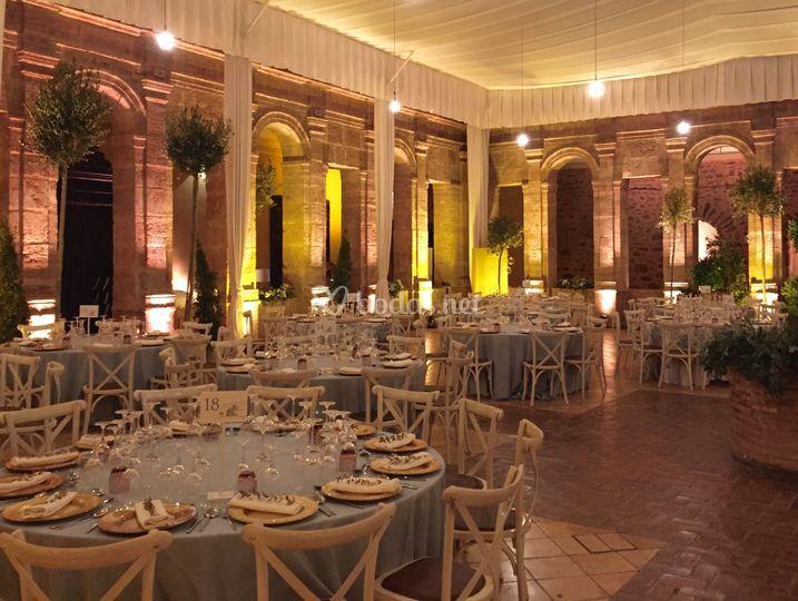 La cartuja de ara christi gourmet catering espacios for Jardines de la cartuja