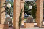 Zona p�rgola Jard�n Frontal de La Cartuja de Ara Christi - Gourmet Catering & Espacios Valencia