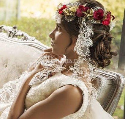 Corona para novias