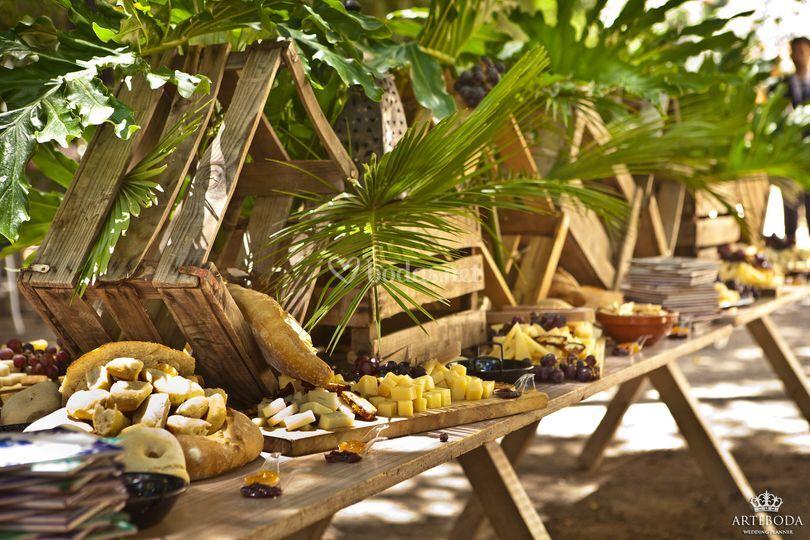 La borraja catering for Jardin botanico granada precio