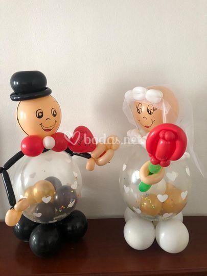 Detalles de los globos
