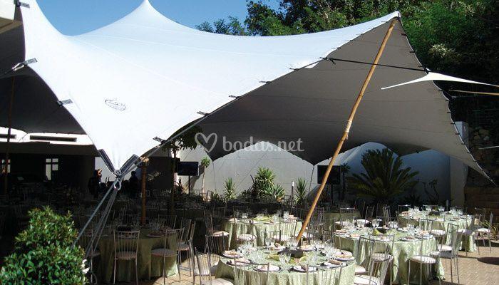 Carpas para bodas y eventos