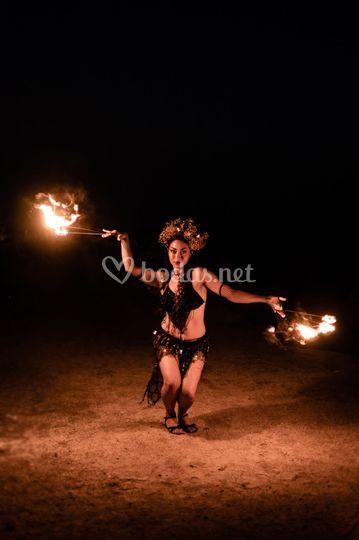Danza con fuego