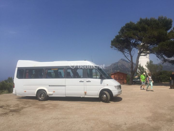 Minibus en Mallorca