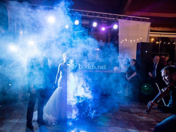 Disco para bodas con violinista