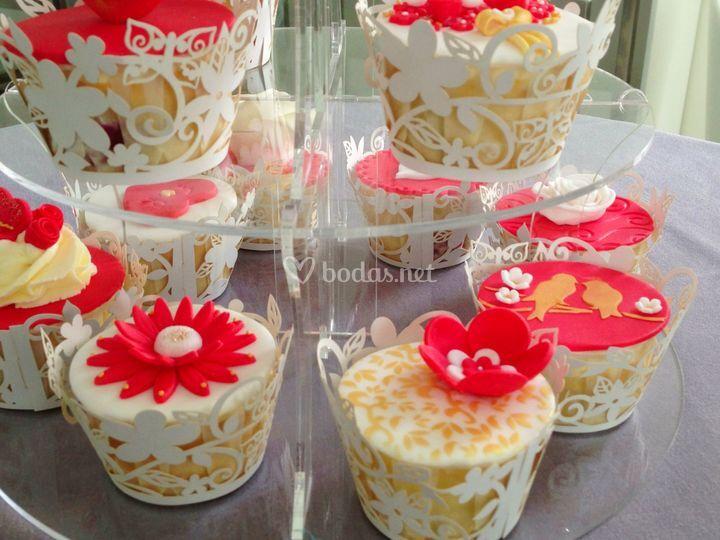 Deliciosos cupcakes