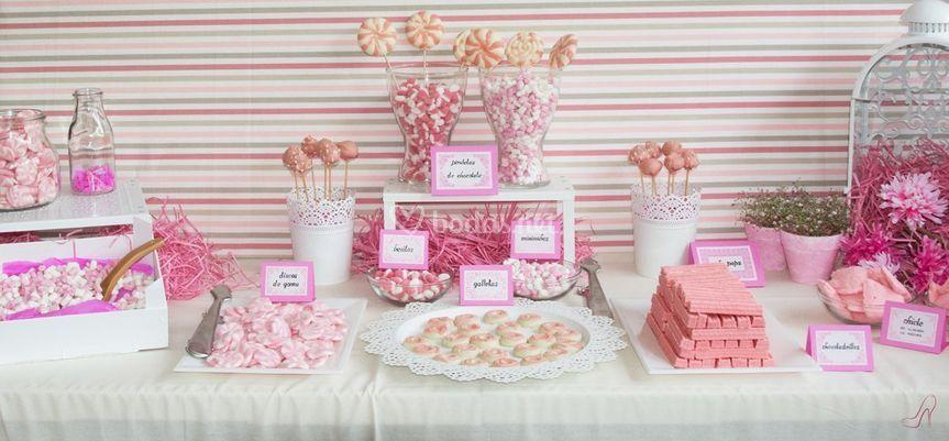 Candy bar personalizados