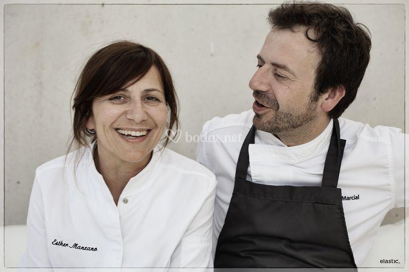 Esther y Nacho Manzano