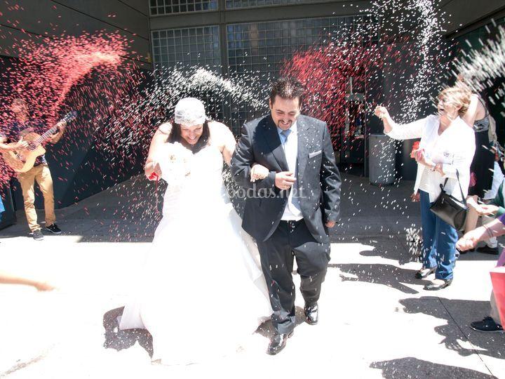 En las mejores bodas