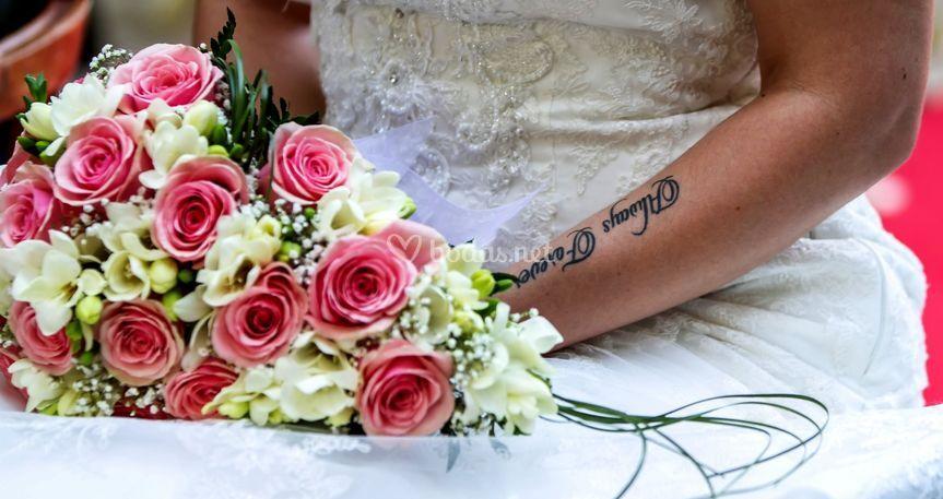 La novia es la protagonista
