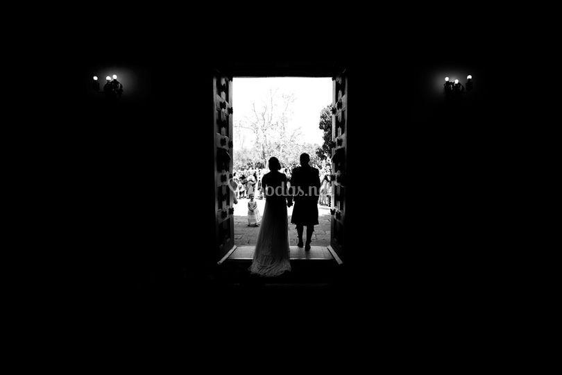 Salida en blanco y negro