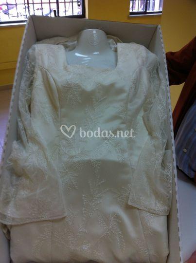 Vestido maniquí