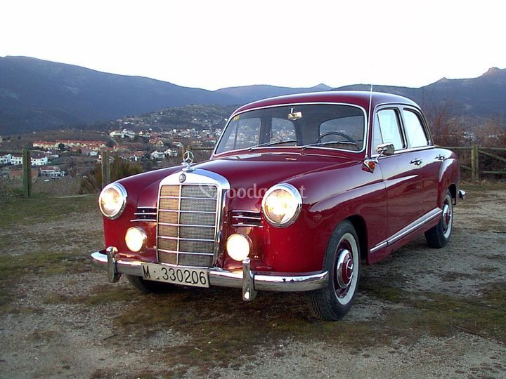 Mercedes Benz Ponton 190