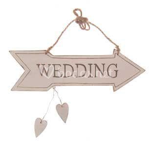 Cartel Madera Wedding