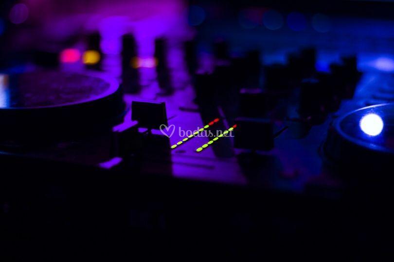 Tabla de DJ
