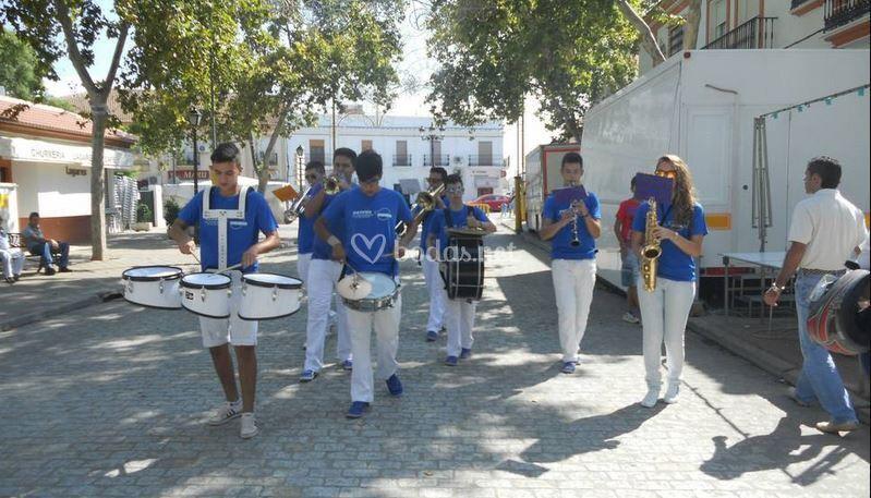 Actuación Feria Moguer 2013