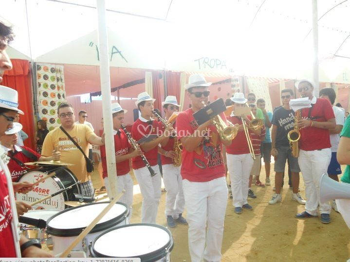 Actuación Feria Moguer 2012