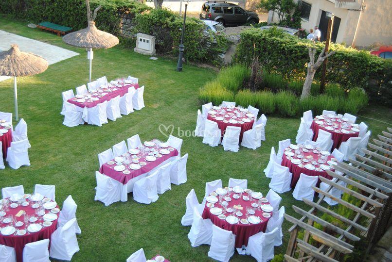 Restaurante de el linar del zaire foto 5 for Preparacion de jardines