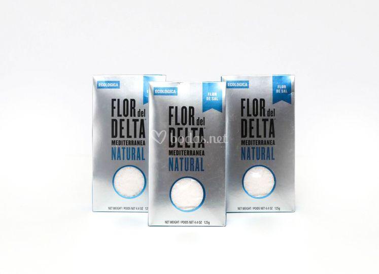 Flor de sal del Delta