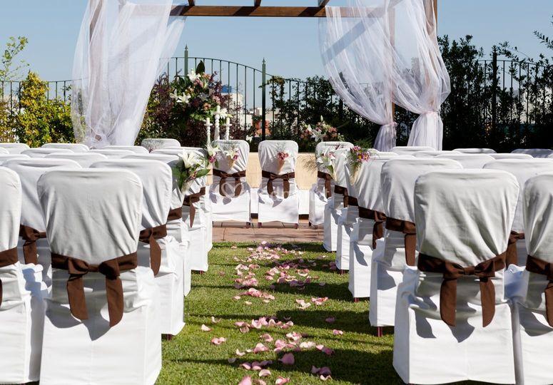 Quinta de los molinos weddings by velada for Piso quinta de los molinos